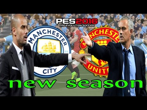 Manchester City  - Manchester Utd  ⚽️ 🎮 PES 2016