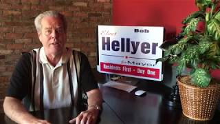 Vote Bob Hellyer for Mayor Nov 5th
