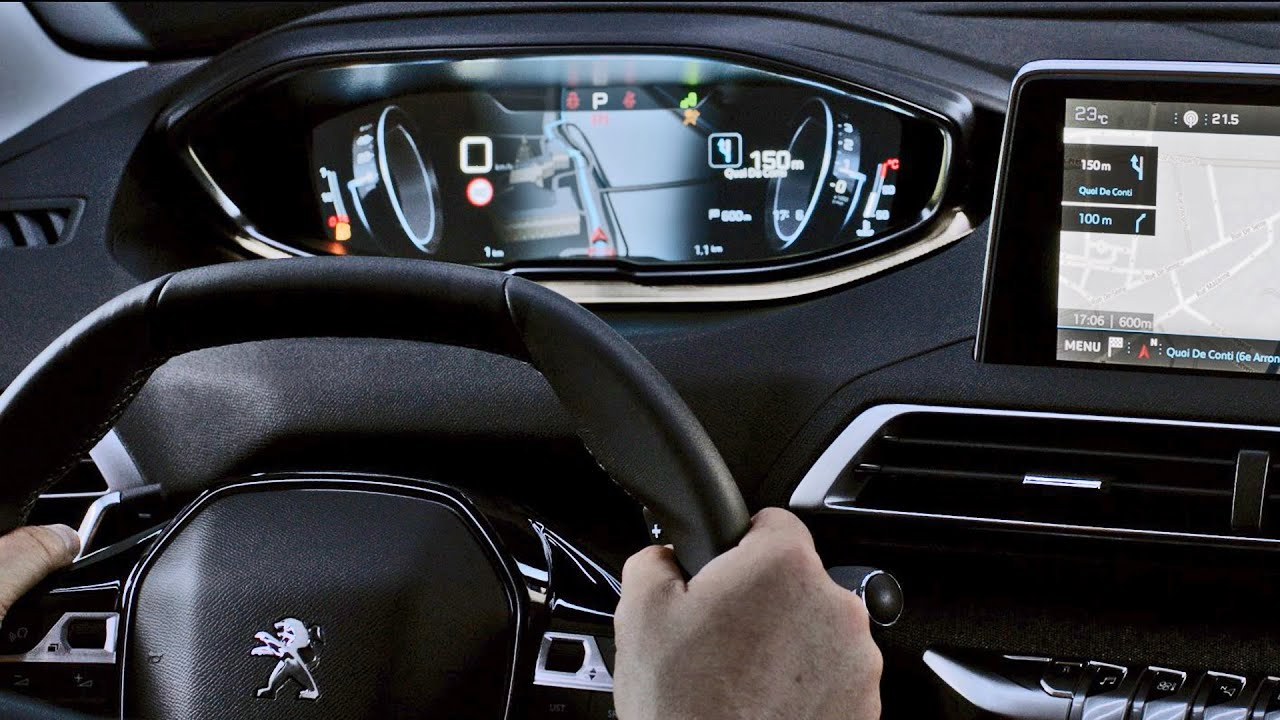 Peugeot 3008 2017 interior with i cockpit youtube for Interieur nouveau 3008
