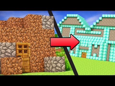 Thumbnail: EASY ways to go from NOOB to PRO in Minecraft!
