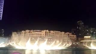 DUBAI - The Dubai Mall/Burj Khalifa Dancing Fountain