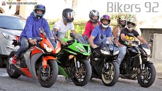 Bikers 92 - Honda Kawasaki Suzuki BMW Ducati Yamaha Best of Superbikes(Subscribe to our channel for more videos! Like BikersBR on Facebook - facebook.com/bikersbr Bikers HD 92 - On the video: BMW S1000RR; Ducati 1199 ..., 2015-03-12T22:58:04.000Z)