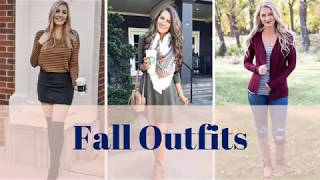 Fall Outfits 2019, Fall Dresses Ideas, Fall Fashion Clothes For Women