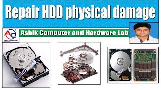 How to repair Hard disk drive physical damage | HDD Data lifeguard tools | fix HDD | Bangla tutorial