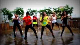 Pitbull - Fireball ft.John Ryan - ZUMBA RAIN DANCE party