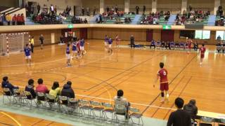 平成28年度全国高等学校ハンドボール選抜大会 石川県予選 小松工業対金市工戦