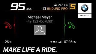 BMW Motorrad Connectivity – How To – Phone Calls.