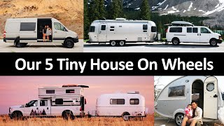 5 Tiny House On Wheels We Called Home // How Much We Paid And Why We Chose Them