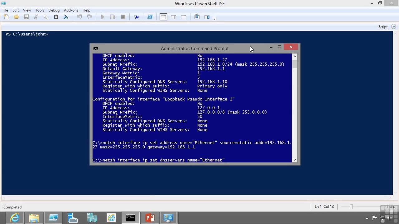 Windows Server 2012 Certification Exam 70 410 Tutorial Configuring