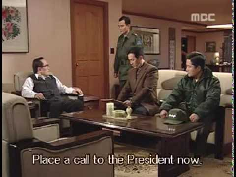 Military coup in South Korea - Part 1 (Scenes from The Fifth Republic - English sub)