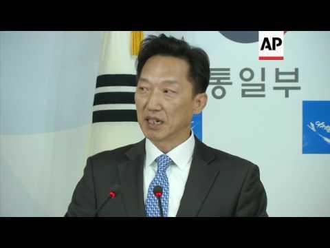 """SKorea to """"flexibly"""" review NKorea relations"""