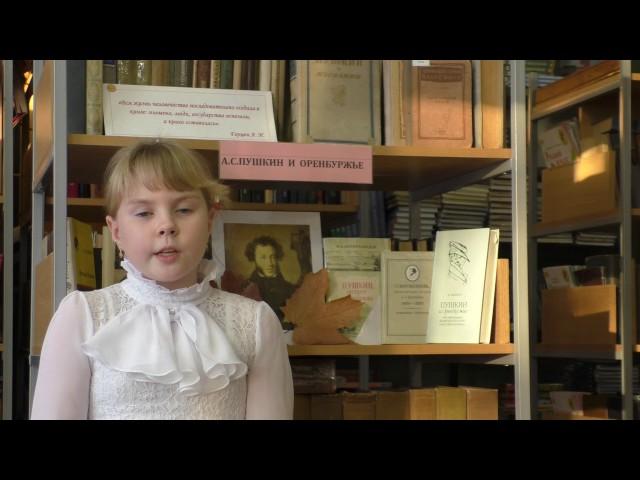 Изображение предпросмотра прочтения – ПолинаЦуканова читает произведение «Зимнее утро» А.С.Пушкина