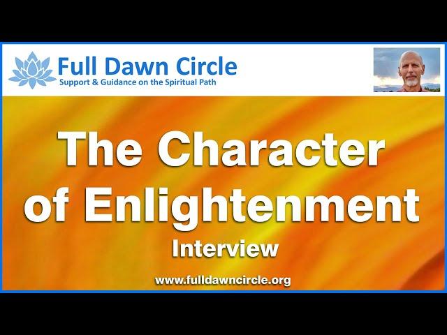 Character of Enlightenment