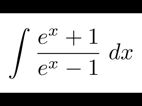 integral of e x 1 e x 1 substitution youtube