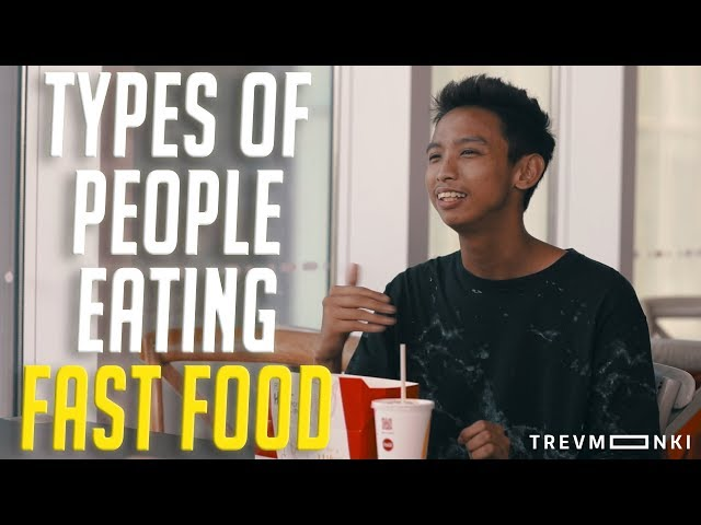why so many people eat fast Because in our modern life now many people specially who have jobs have no time to eat ordinary food so they depend on the fast food but sometime the old people don't like to eat fast food about.