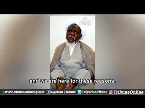 Nigerian government lied, El-Zakzaky says in new video