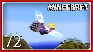 Minecraft: Elytra Launching | E072 | 1.10 Vanilla Survival Single-player (SSP)