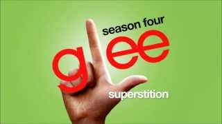 Watch Glee Cast Superstition video