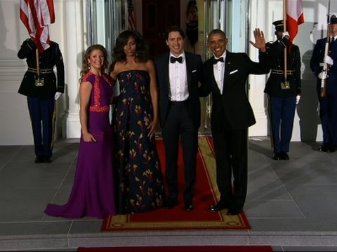 Raw: Obamas Welcome Trudeaus for State Dinner
