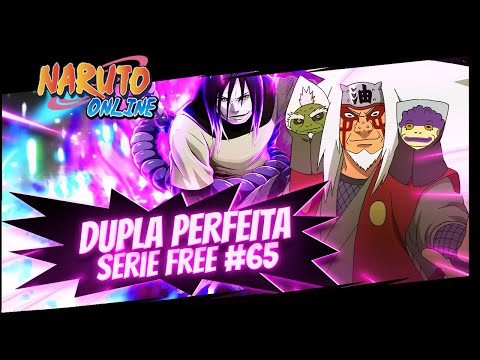 LUTEI CONTRA ESSES DOIS MONSTROS, OROCHIMARU E JIRAIYA 65  Naruto Online