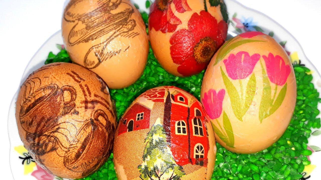 Как красиво покрасить яйца на Пасху/ Яркие и оригинальные ...