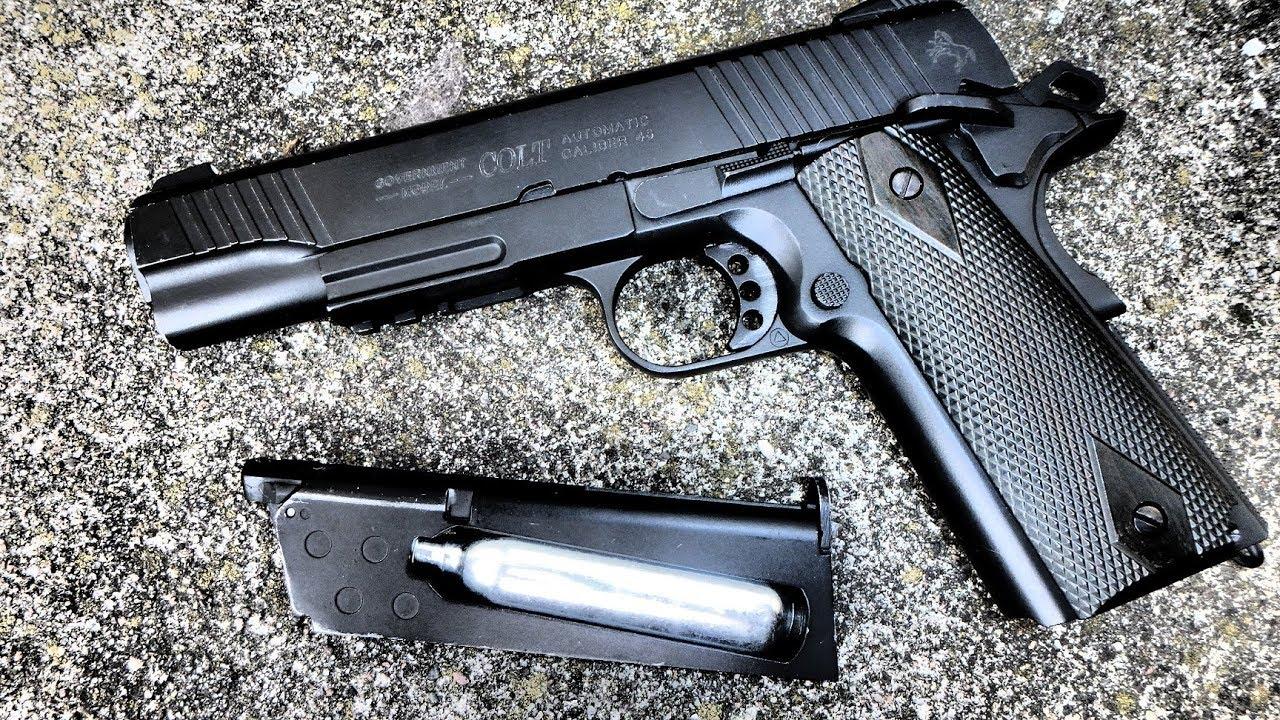 Cybergun Colt Rail Gun - review/anmeldelse