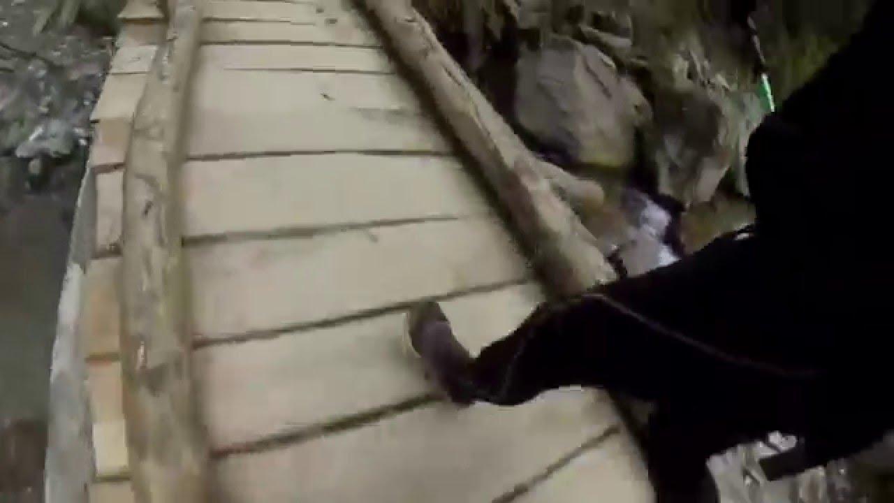 Gopro: Extreme running. Annapurna treck, Nepal.