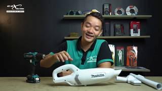 Dùng thử MÁY HÚT BỤI dùng pin 12v Makita CL106FD