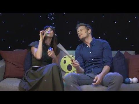 Outlander  s ~ Sam Heughan & Caitriona Balfe Facebook Live Q&A