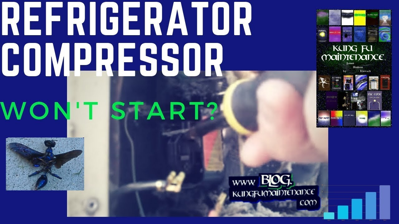 How To Repair A Refrigerator With Compressor That Suddenly Stopped Working Or Will Not Run Hanabishi Electric Fan Wiring Diagram 220v