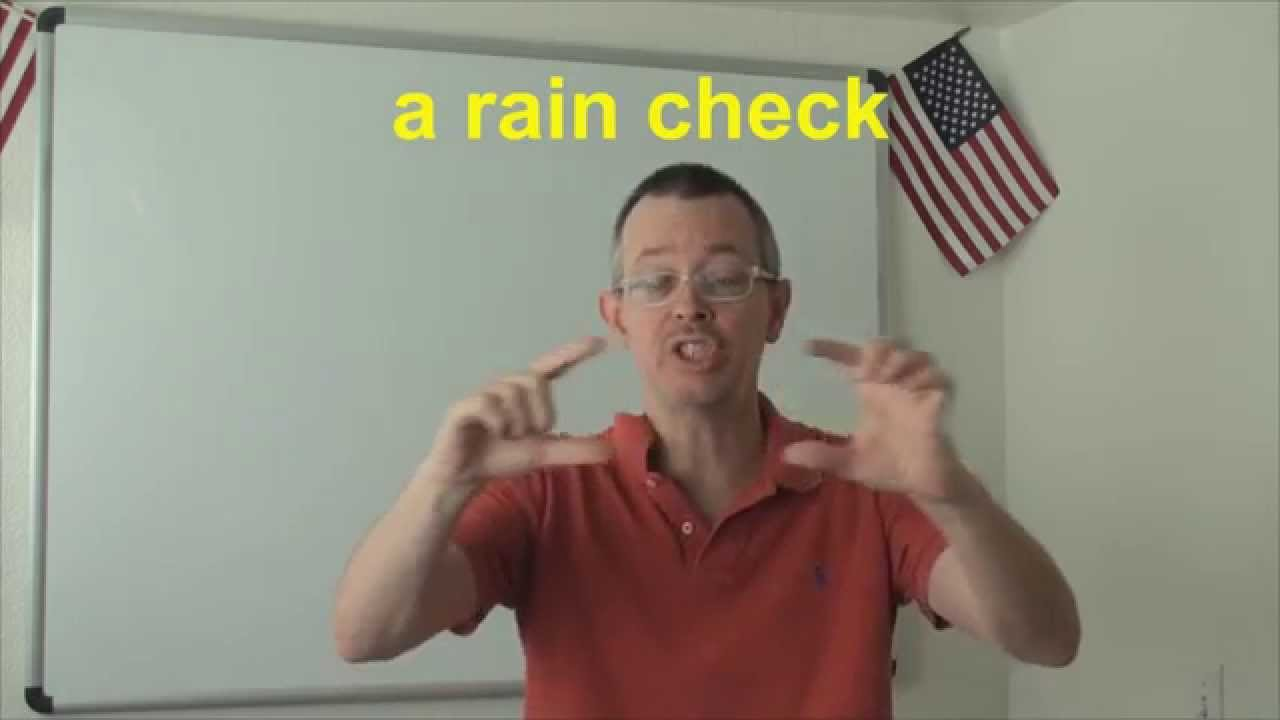 Download Learn English: Daily Easy English Expression 0628: a rain check