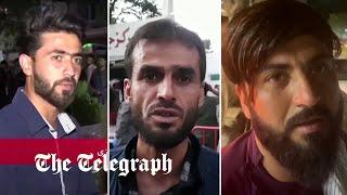 video: Thirteen US troops and scores of Afghans die in Kabul blasts