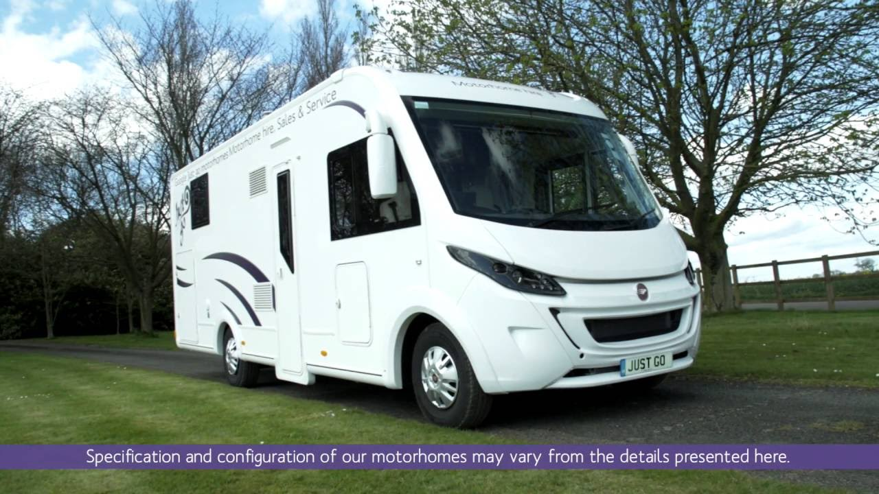 05f1f1d683 4 berth Luxury A-class motorhome from Just go Motorhome Hire - YouTube