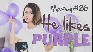 Quynh Anh Shyn - Makeup#26 :  He likes PURPLE!