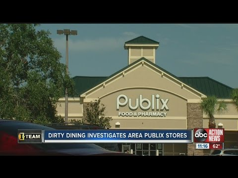 Dirty Dining: 7 Publix Super Markets failed inspections due to rodents or unsafe food temperatures
