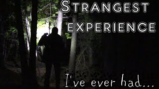 My Strange Experience: Voices in the Forest  ...& 50,000 Subs!!!