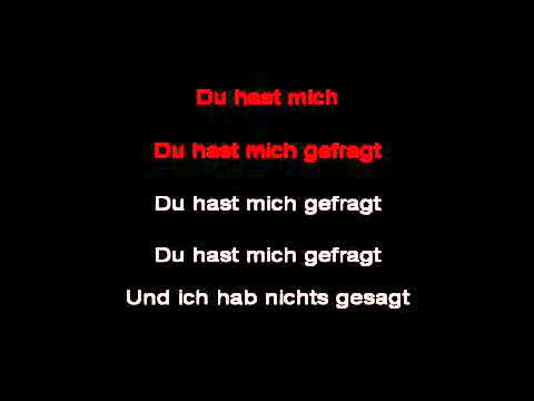 du du hast du hast mich lyrics