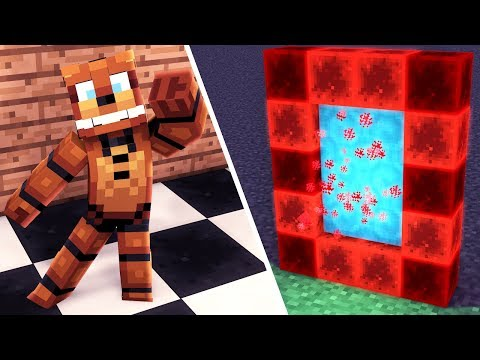 Minecraft How To Make A Portal To FIVE NIGHTS AT FREDDYS! | Minecraft Roleplay