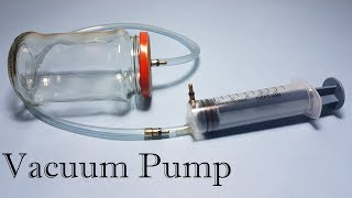 Repeat youtube video How to Make Vacuum Pump and Vacuum Chamber