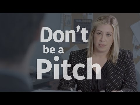 Don't Be A Pitch