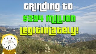 GTA Online Grinding to $394 Million Legitimately And Helping Subs