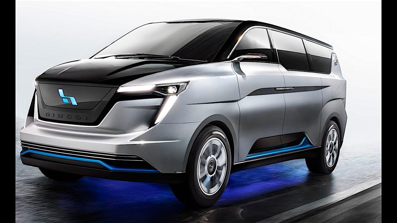 Iconiq Seven Electric Mpv Review Minivan Electric Taxi