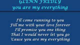Download lagu glenn fredly - you are my everything [lyric]