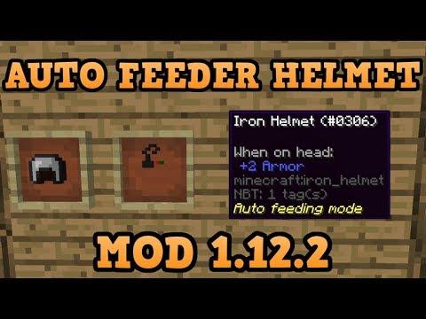 Auto Feeder Helmet Mod For Minecraft 1 12 2   LegionMinecraft