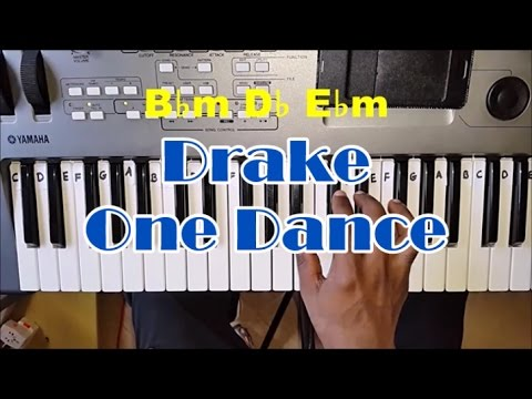 Drake One Dance Piano Tutorial - Chords - How To Play One Dance By Drake Ft. Kyla & Wizkid - Easy