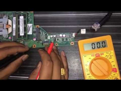 How to check and repair a dead/no display laptop  in hindi laptop chip level training in kanpur