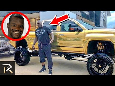 This Is How Shaquille ONeal Spends His Millions