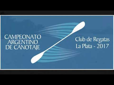 Campeonato Argentino de Canotaje 2017. Club de Regatas La Plata Dia 2