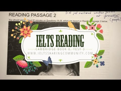 IELTS Reading Cambridge 8:Test 3- Passage 2- Step by step guide to do reading test