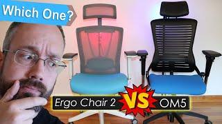 The Autonomous ErgoChair 2 VS ErgoDirect OM5 Side By Side Review